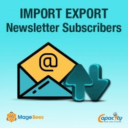 Import Export Newsletter Subscribers