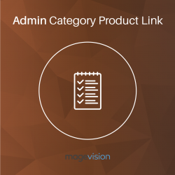 Admin Category Product Link