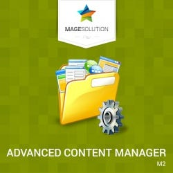 Advanced Content Manager