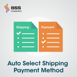 Auto Select Shipping Payment Method