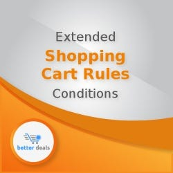 Extended Shopping Cart Rules Conditions