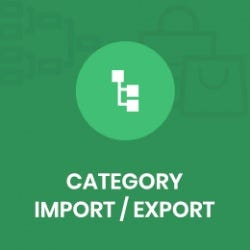 Category Import / Export