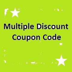 Multiple Discount Coupon Code