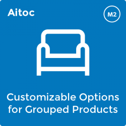 Customizable Options For Grouped Products