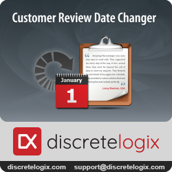 Customer Review Date Changer