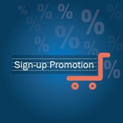 Signup Promotion