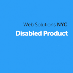 Disabled Product