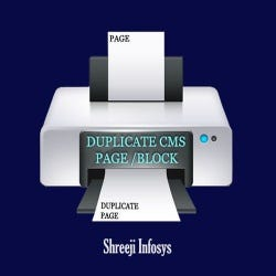 Duplicate CMS Page/Block