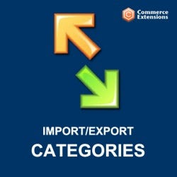 Import / Export Categories