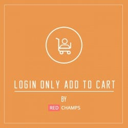 Login Only Add To Cart