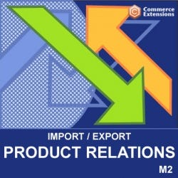 Import / Export Product Relations