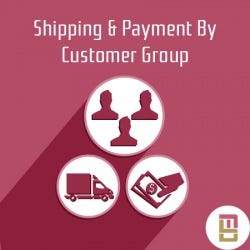Shipping & Payment By Customer Group