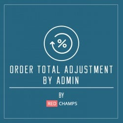 Order Total Adjustments By Admin