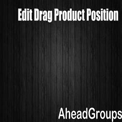 Edit Drag Product Position