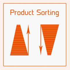 Product Sorting