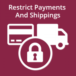 Restrict Payments & Shippings