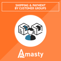 Shipping & Payment By Customer Groups
