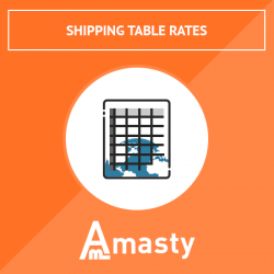 Shipping Table Rates