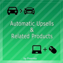 Automatic Upsells & Related Products
