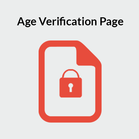 Age Verification Page