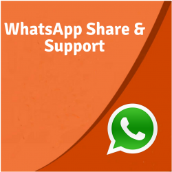 WhatsApp Share & Support